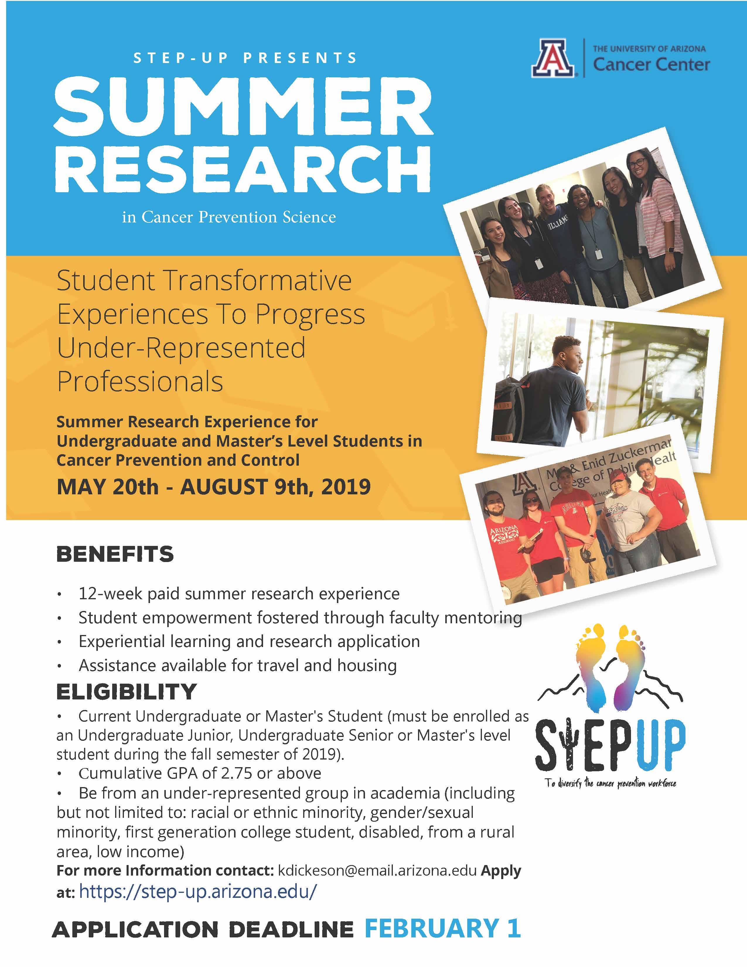 STEP-UP Flyer 2019